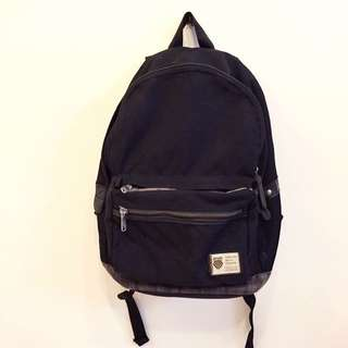 原價1800 K·SWISS/KSWISS/K-SWISS 黑色少見後背包