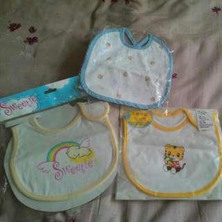 (含運)全新可愛嬰兒圍兜