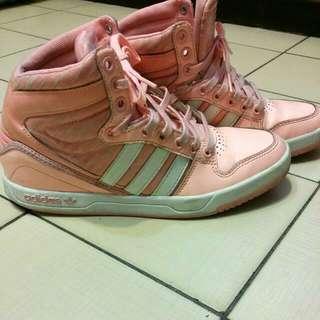 【二手清倉】Adidas 限量螢光橘運動鞋