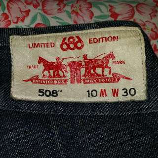 Jeans Levi's 508 X 686 Limited Edition