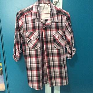 Man Studio Checkered Shirt