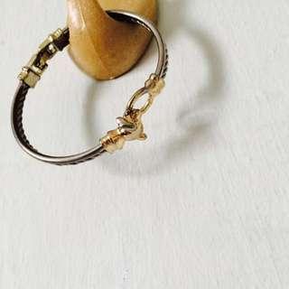 🔴 Topshop Dainty Silver Gold Bracelet