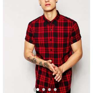 Asos Short Sleeve Shirt