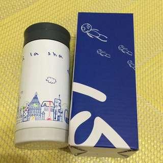 全新a La Sha保溫壺—適合要入秋冬季的隨身瓶