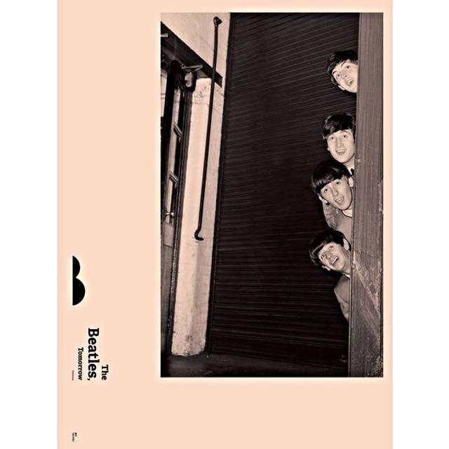 【2015 The Beatles,Tomorrow 披頭四特展 限定海報】