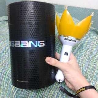 BIGBANG 官方 應援手燈 皇冠燈 第三代