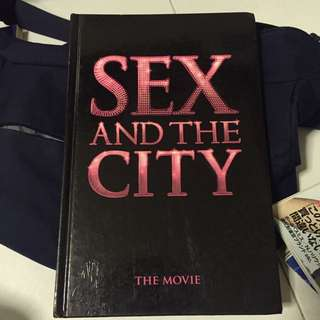 Sex And The City the Movie Photobook (hardcover)