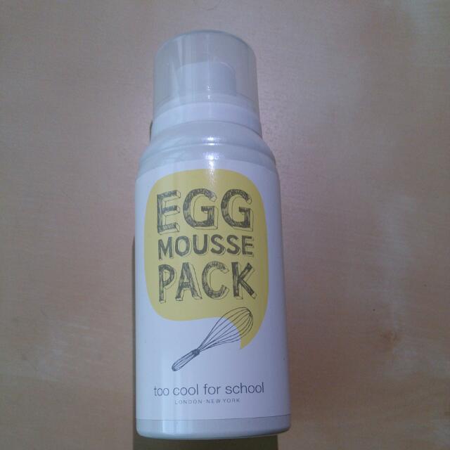 白滑雞蛋面膜