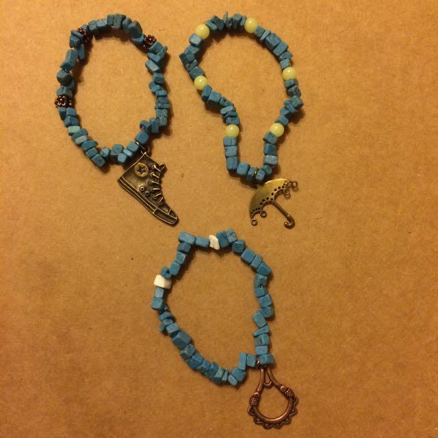 藍色石頭手鍊🔵