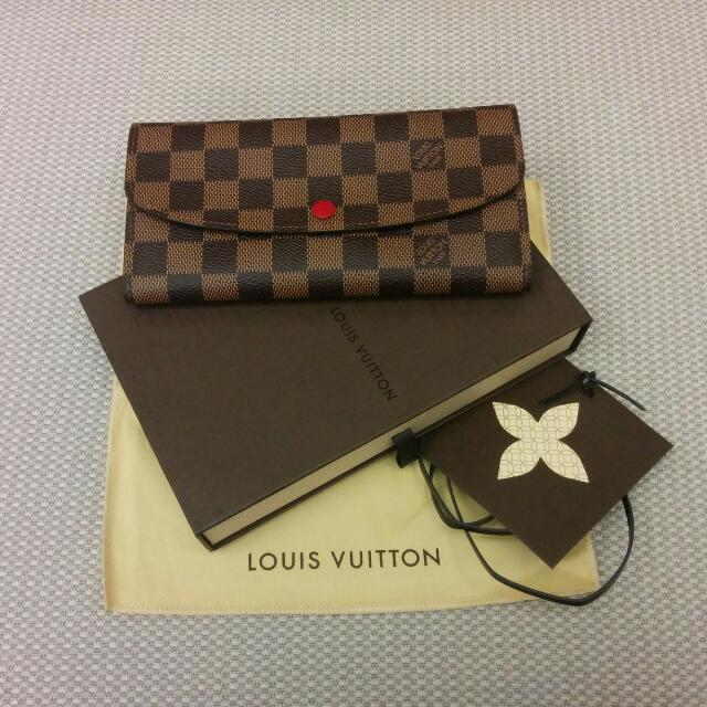 3f1e423695dca Brand New In Box Authentic Louis Vuitton (LV) Emilie Wallet In ...