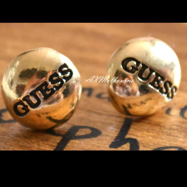 Guess Gold Plated Earring / Stud