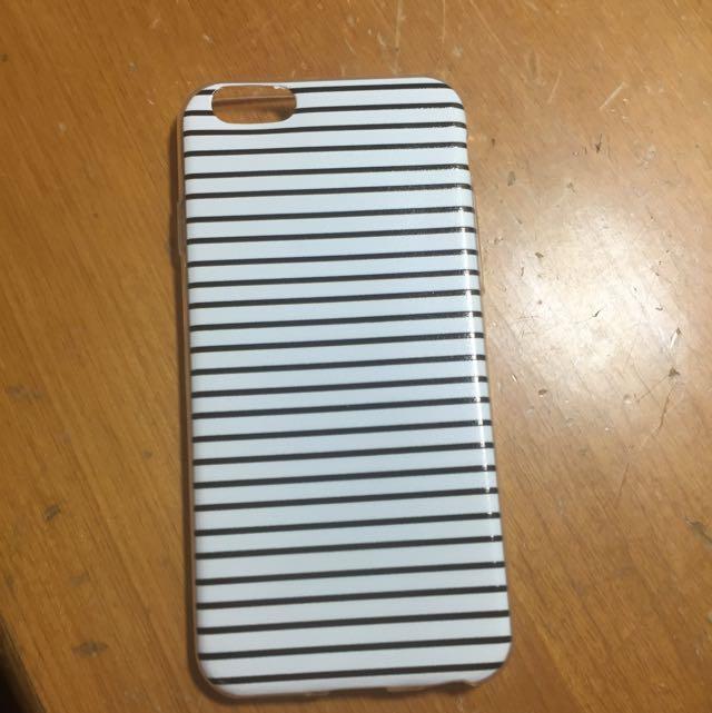 條紋i6手機殼