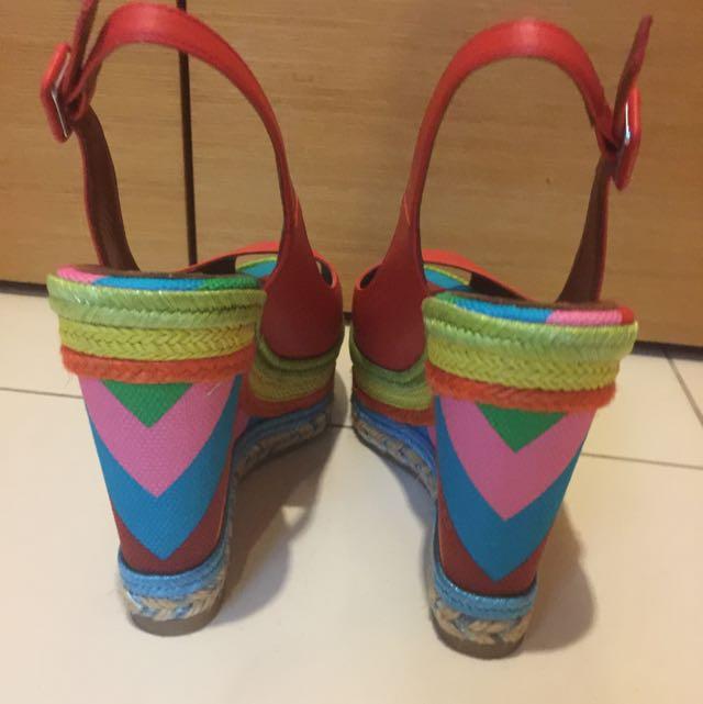 Like New Valentino Rainbow 1973 Espadrilles