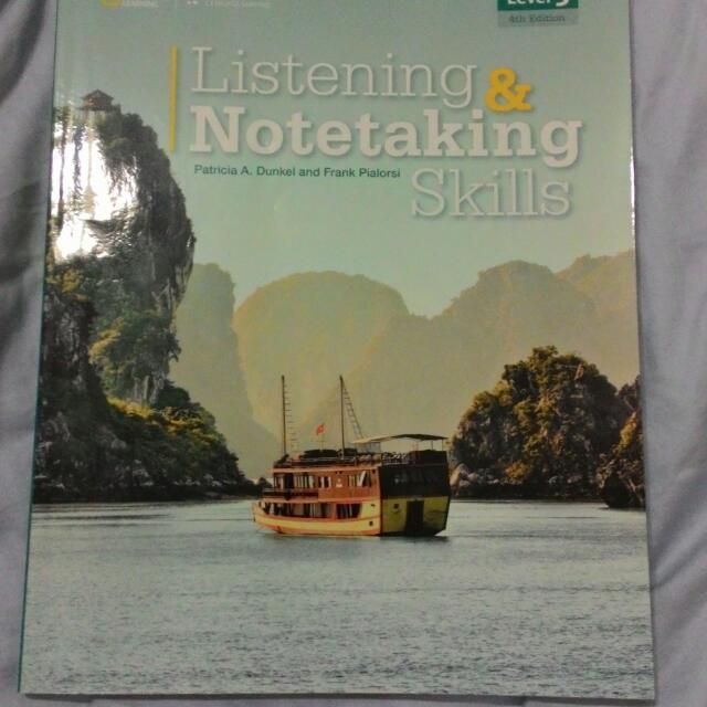 (林瀚儀老師用書)Listening & Notetaking Skills