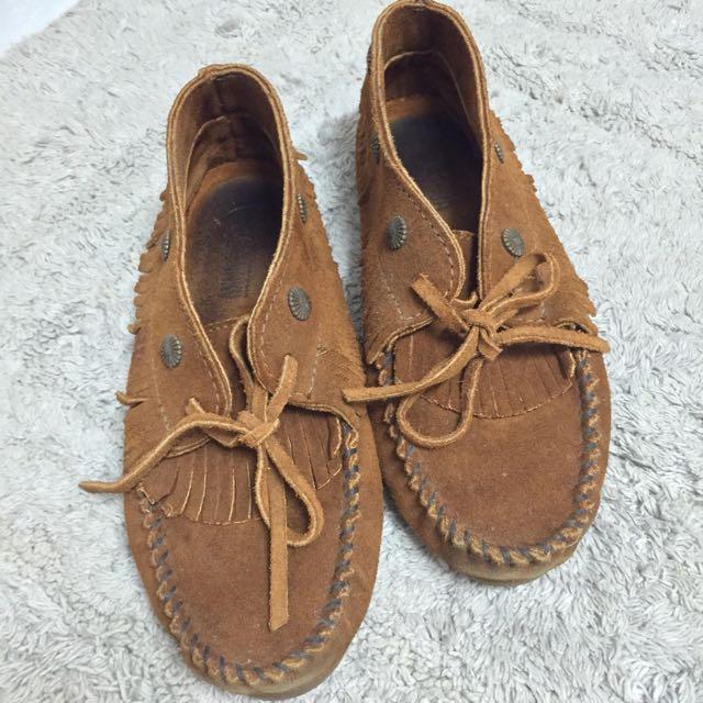 Minnetonka 莫卡辛 短靴