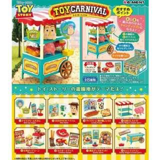 (含運)迪士尼 TOY Carnival 玩具總動員 盒玩 一組8盒