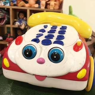 玩具總動員啾啾可愛電話擺飾