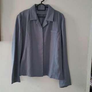 Grey Office Jacket