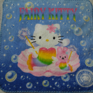 2000年hello kitty fairy小手帕