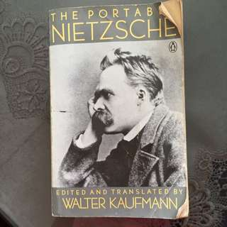 The Portable Nietzsche Edited And Translated By Walter Kaufmann