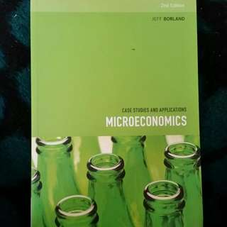 Microeconomics case Studies And Applications