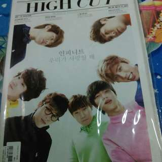 Infinite High Cut 封面雜誌