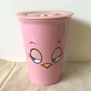 杯子 憤怒鳥 粉紅色