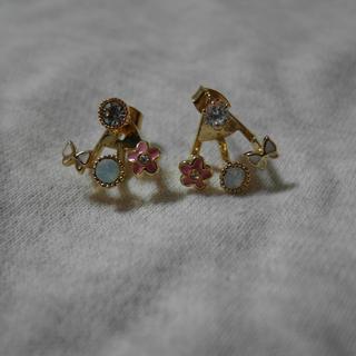 氣質花朵耳環
