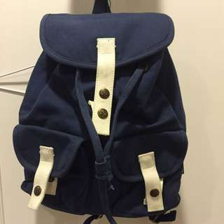 TRAVEL FOX 藍色肩背包
