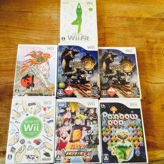wii 遊戲光碟  日版  正版  單售