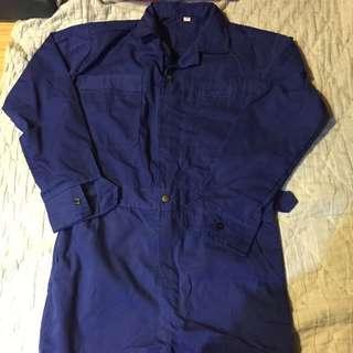 全新工作褲深藍色