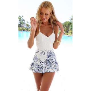 <PO> Lacey Floral Play suit
