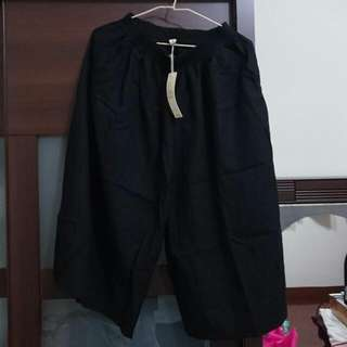 (全新)大寬褲