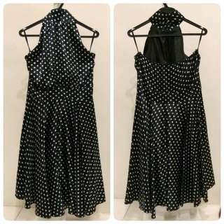⭐ [Reduced]NICHII Polka Dot Halter Dress