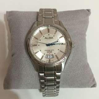 ALBA 男性石英手錶 (9成新)