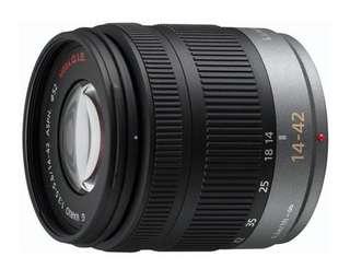 Panasonic LUMIX 14-42mm F3.5-5.6 ASPH. MEGA O.I.S. (拆鏡)全新
