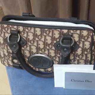 ♥正品Dior復古波士頓包♥