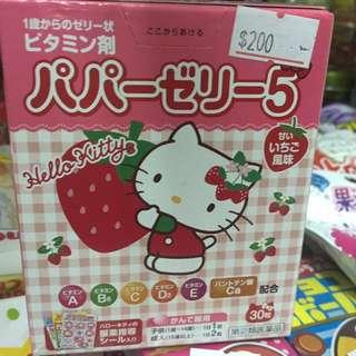 日本綜合維他命 Kitty包裝