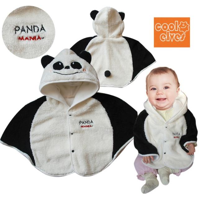 熊貓造型萌寶寶披風*只有一件*