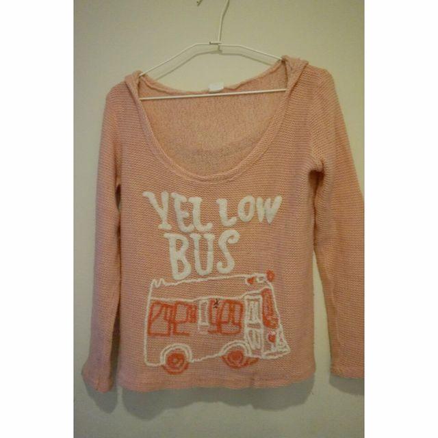 🎽針織粉色衫