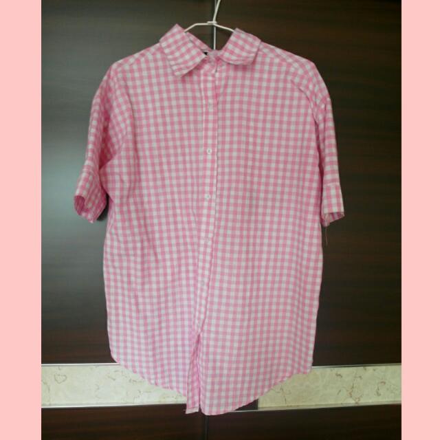 ❁米奇粉色襯衫