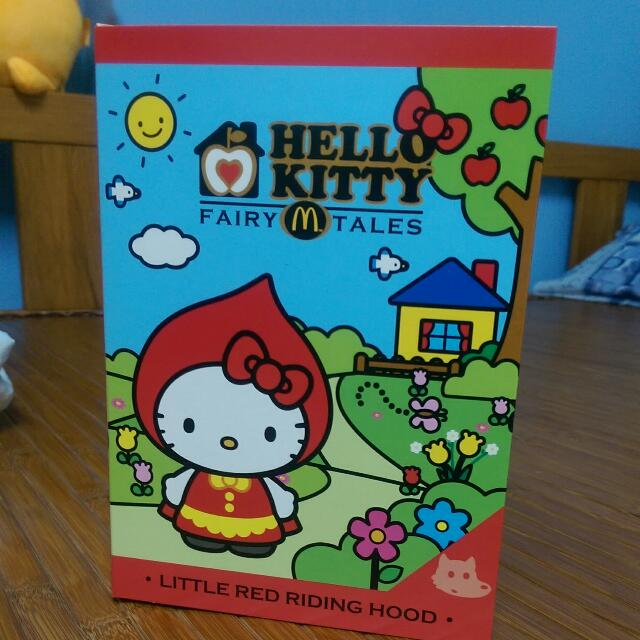 麥當勞 Hello Kitty玩偶 小紅帽