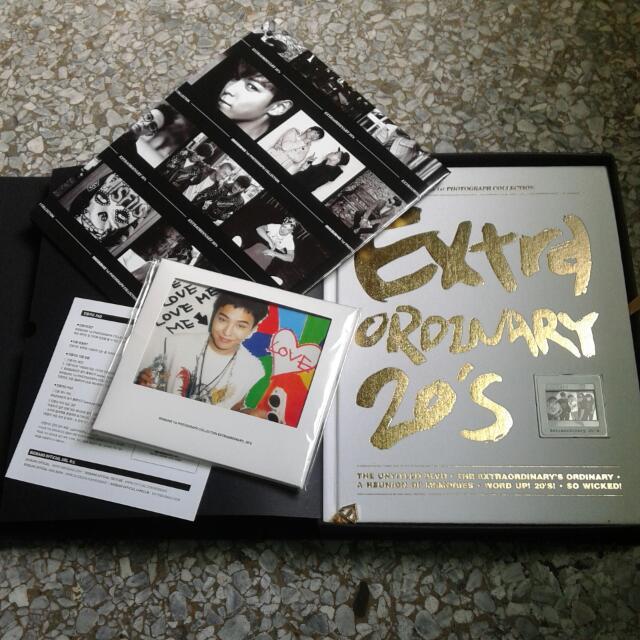 ((交易中))BIGBANG首本超豪華全記錄寫真書 [Extraordinary 20's] 韓國原裝進口(國際英文版)