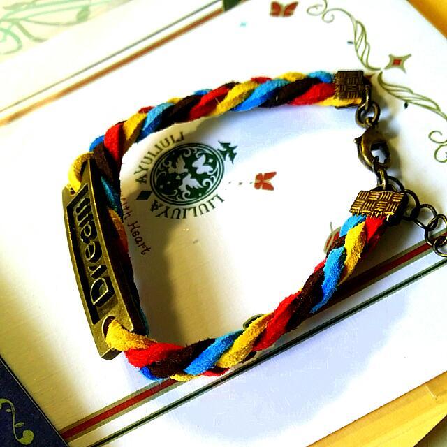 小禮品🌟Dream韓國絨手環