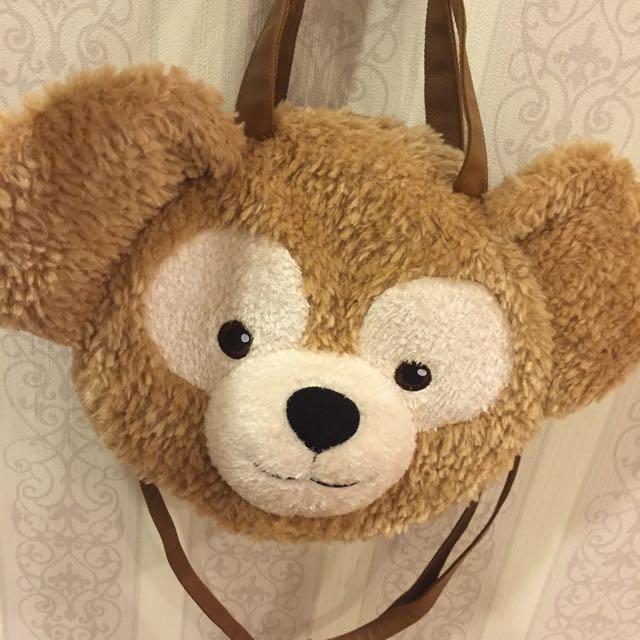 迪士尼Duffy大頭肩包