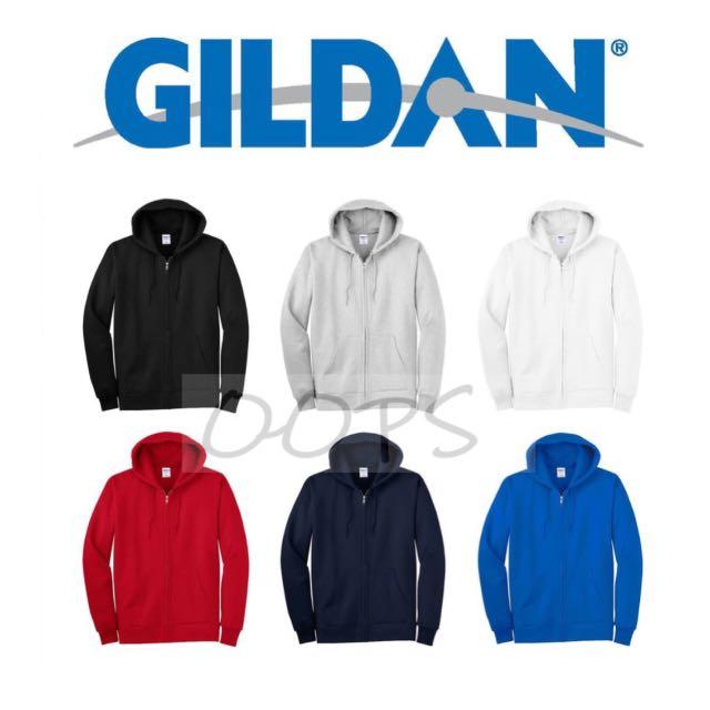 GILDON連帽拉鏈外套