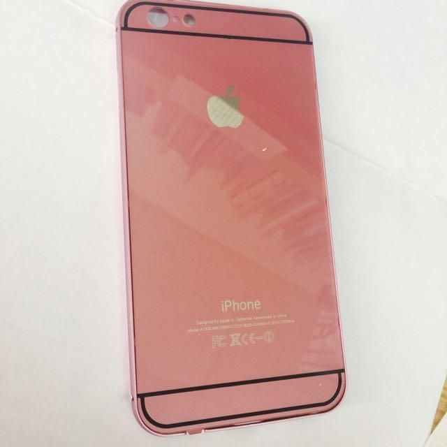 IPhone 6 Plus 手機殼 香檳粉紅色