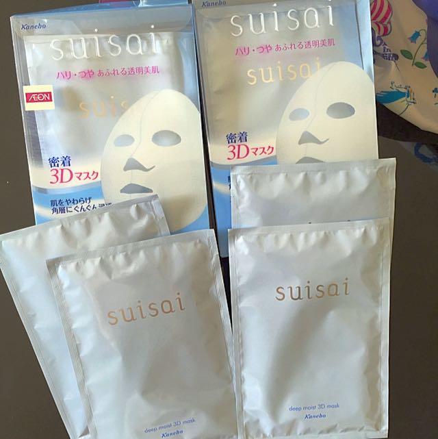 日本Kanebo佳麗寶•suisai Deep Moist 3D Mask三維立體結構高保濕美容面膜