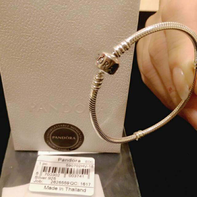 Pandora純銀手鍊