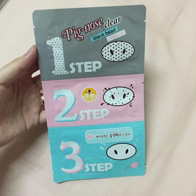 全新韓國帶回Pig-nose(5片已完售待匯款)